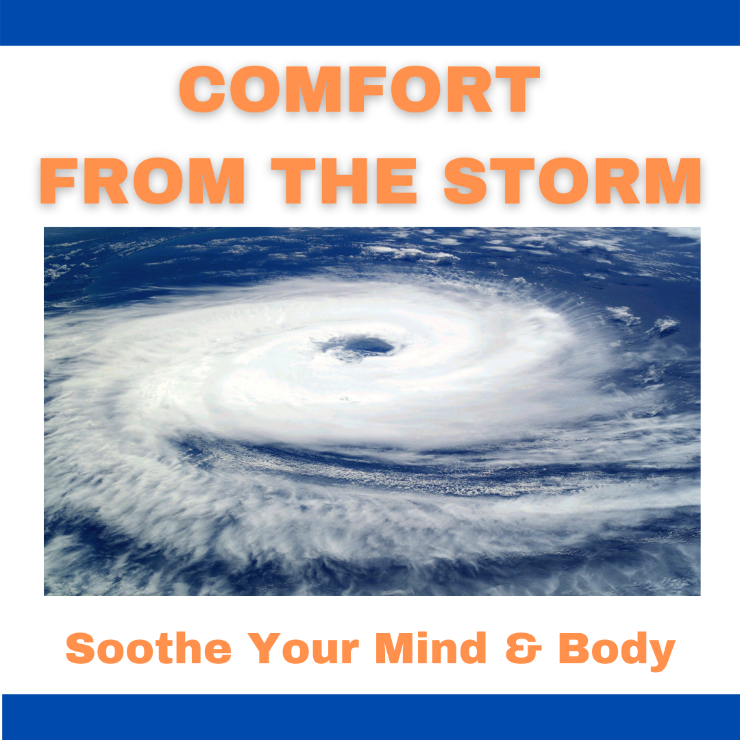 a hurricane and comfort from the storm